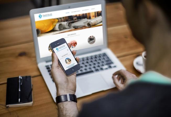 création site internet responsive DGAC