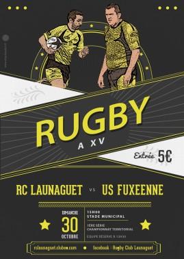 affiche launaguet foix