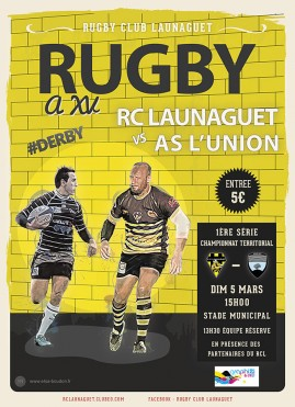 affiche launaguet l'union
