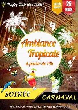 affiche rcl carnaval