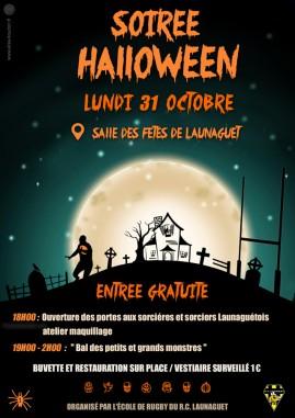 affiche rcl halloween